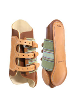 Rodeo Dawg Branded Leather Splint Boots by Top Hand