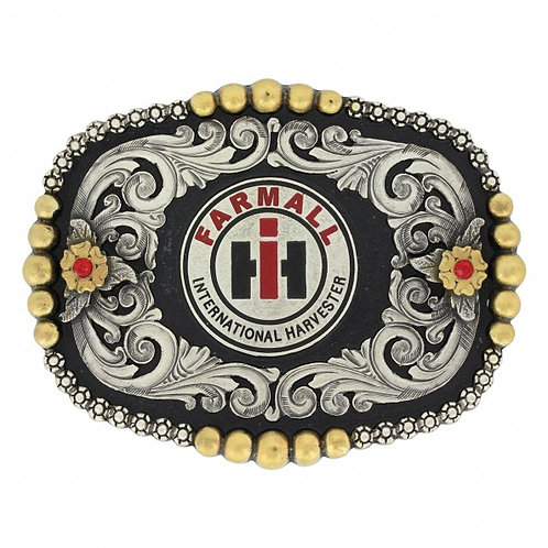 Montana Attitude Case IH Fancy Dress Buckle