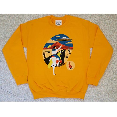 Ladies Cowboy Sh*t Space Cowboy Sweater