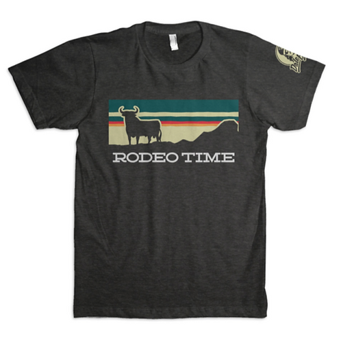 Dale Brisby Grey  'Rodeo Time' Sunset Tee