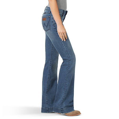 Ladies Wrangler Retro Mae Trouser Jean - Vicki