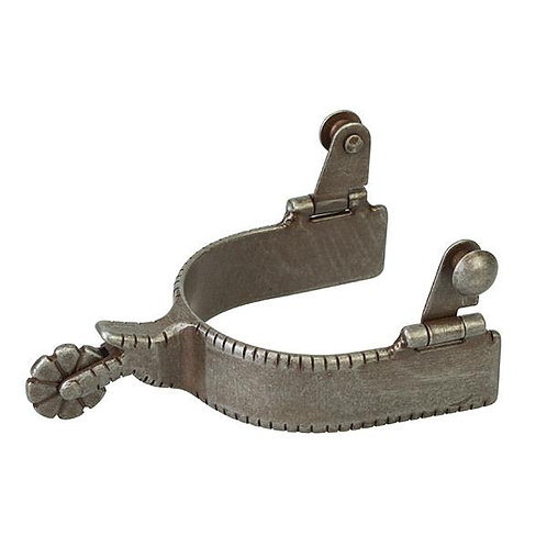 Men's Spur with Plain Buffed Brown Band
