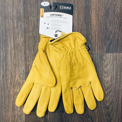 Noble - Cheyenne Sheepskin Fleece lined Gloves