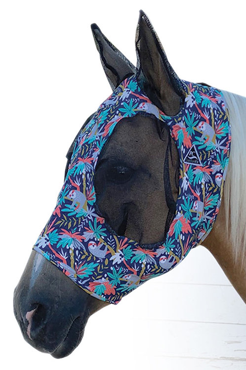 Professional's Choice Lycra Fly Mask - Sloth