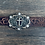 Thumbnail: Ladies Tooled Belt with Cross Buckles