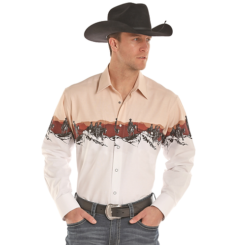 Panhandle Mountain Peak Western Shirt