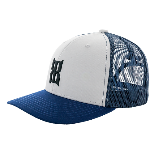 BEX Steel Cap - White & Blue
