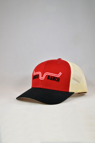 858df2caf7fa3 Kimes Ranch Oxbow Trucker Cap - Red