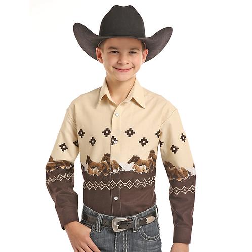 Panhandle Twilight Run Western Shirt