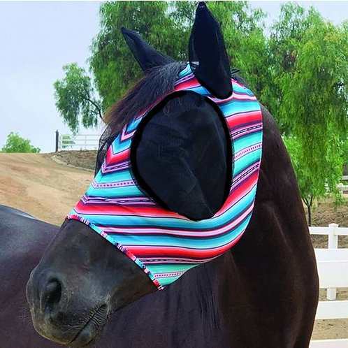 Professional's Choice Lycra Fly Mask - Santiago