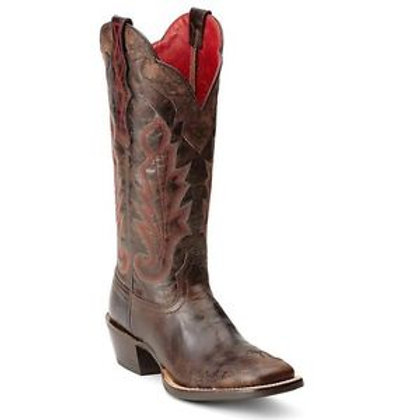 Ariat Chocolate/Ruby Red Ladies Boot