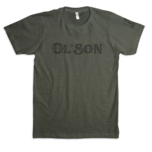 Dale Brisby 'Ol Son' Military Green Tee