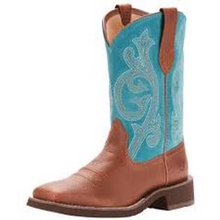 Ariat Prim Rose Blue Boots