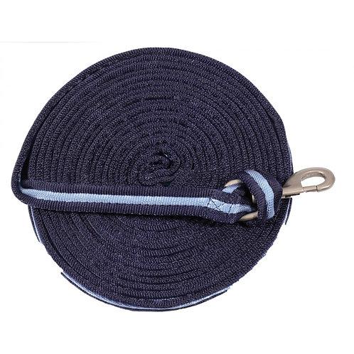 Cushion Web Lunge Line 25' - Navy & Blue