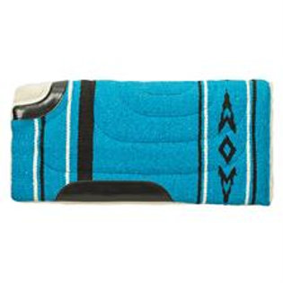 "Weaver Acrylic 23""x23"" Cut Back Pony Saddle Pad - Blue"