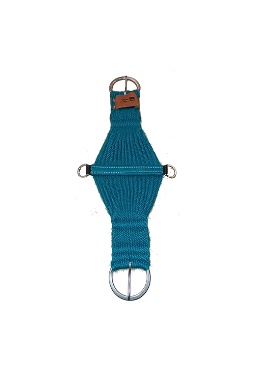 5 Star Mohair Cinch - Turquoise