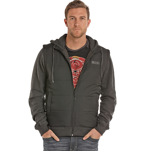 Panhandle Layered Vest Zip Up