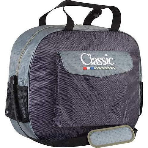 Classic Basic Rope Bag - Olive Chevron