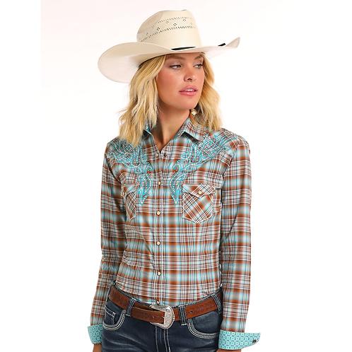 Panhandle Bangor Vintage Plus Size Western Shirt
