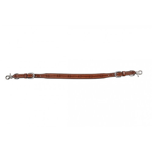 Western Rawhide Barbed Wire Wither Strap