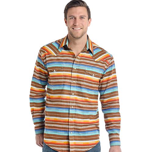 Panhandle Serape Stripe Western Shirt
