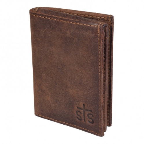 STS Ranchwear - The Foreman's Tri-Fold Wallet