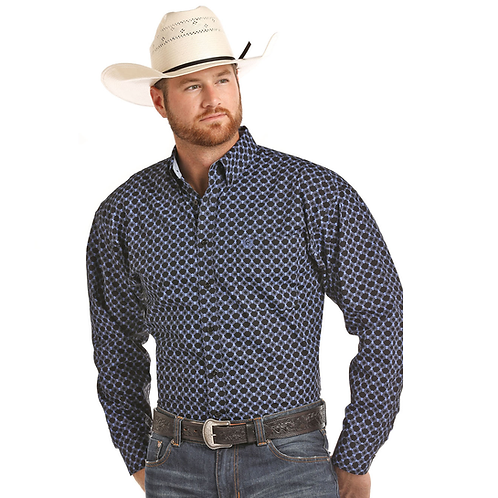 Cinch Blue Wave Western Shirt