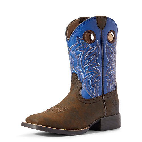 Ariat Youth Catch'em Boots - Cloud Blue