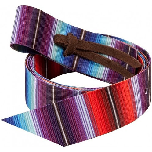 Patterned Nylon Latigo Strap