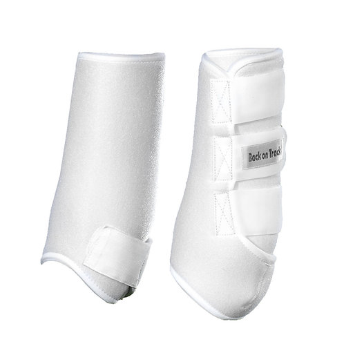 BOT White Hind Medium Splint Boots