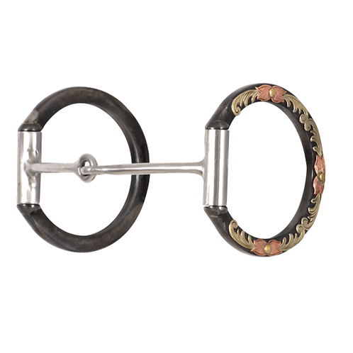 CE BitLogic Classic D Ring Smooth Snaffle