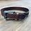 Thumbnail: Kid's Studded Basketweave Belt - Dark
