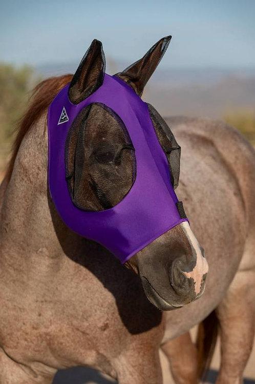 Professional's Choice Lycra Fly Mask - Purple