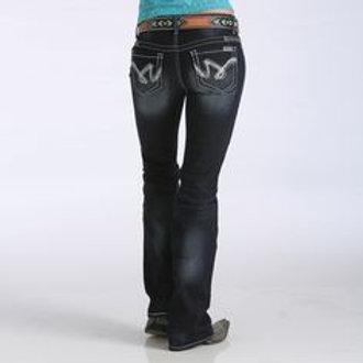 Cruel Girl Abby White Jeans