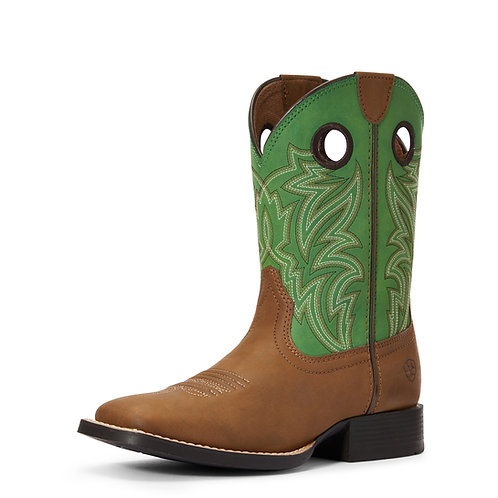 Ariat Youth Catch'em Boots - Best Green