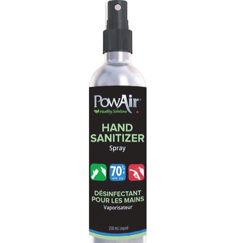 PowAir Hand Sanitizer Spray 250ml