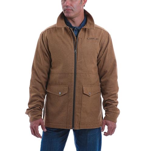 Men's Cinch Camel Brown Suede Jacket