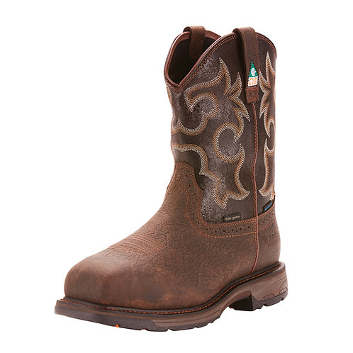 Ariat WorkHog Insulated Boot -Bruin Brown