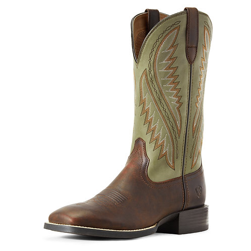 Ariat Sport Stonewall Brown & Olive Boots