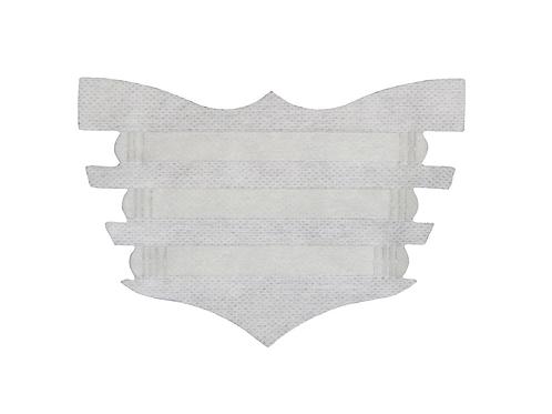 White Flair Strip - 6 Pack