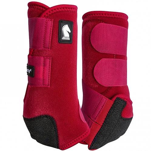 Classic Equine Legacy2 Boots - Crimson