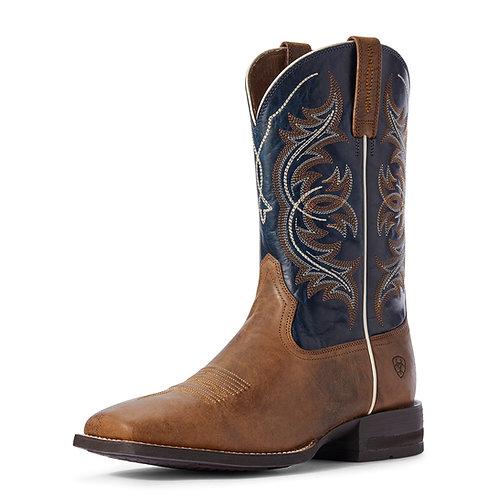 Men's Ariat Holder Boots - Navy Blue