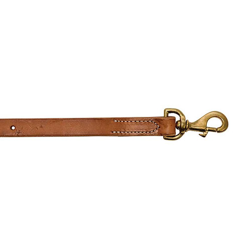 7/8″ Easy Adjust Harness Leather Tie Down