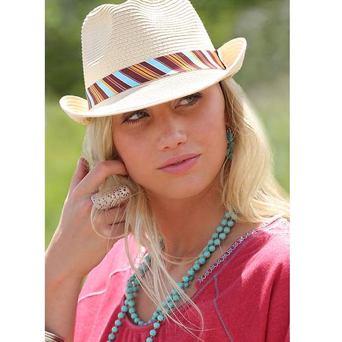 Cinch Serape Fedora Hat