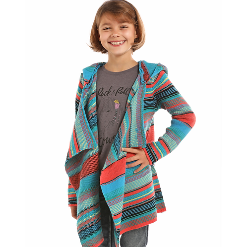 Panhandle Knit Serape Cardigan