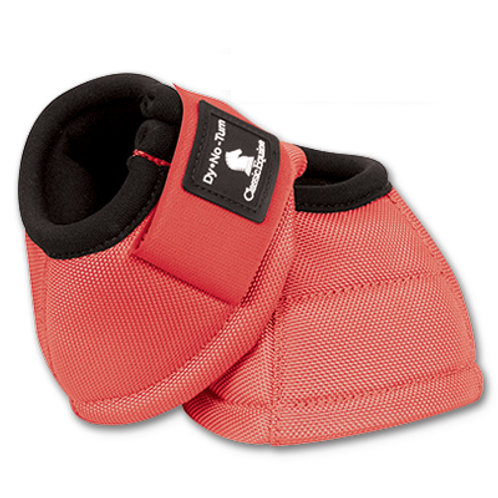 Classic Equine Bell Boots - Coral