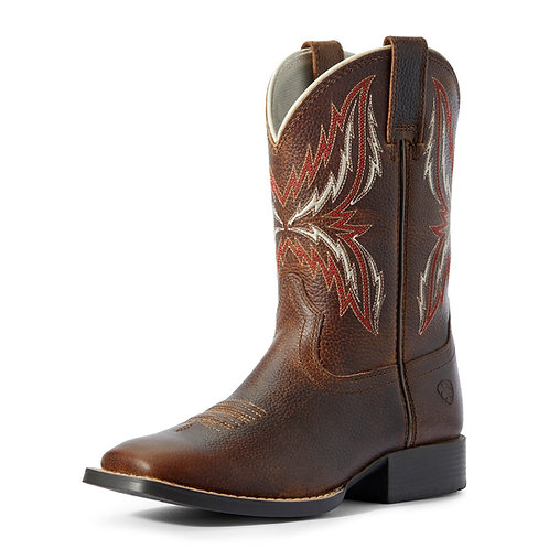 Ariat Youth Arena Rebound Boots - Brown