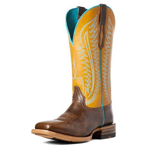 Ladies Ariat Boots - Belmont Mustard
