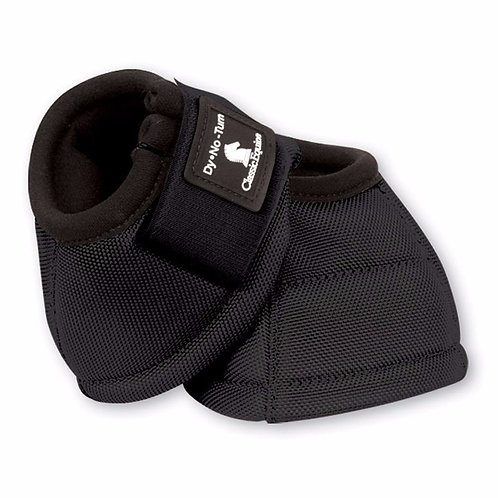 Classic Equine Bell Boots - Black