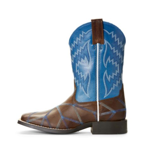 Youth Blue Twisted Tycoon Boots